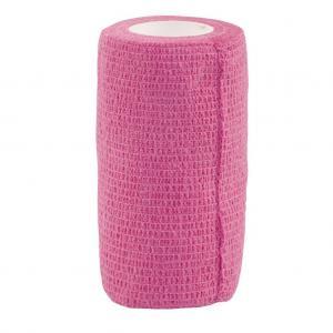 rosa självhäftande bandage