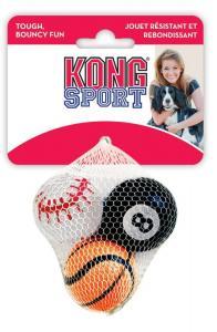 Kong sport tennisboll 3-pack