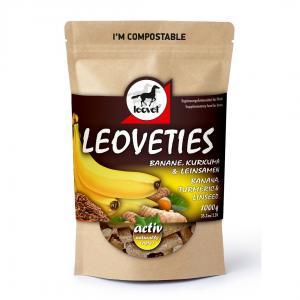 Leoveties Banana, Tumeric & Linseed 1kg