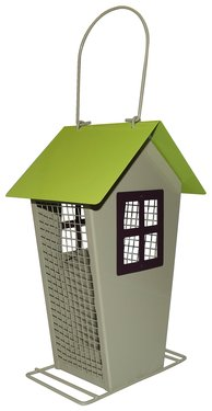 Fågelmatare hus för nötter