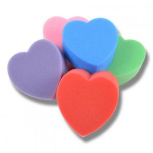 Svamp Hjärta mixade färger