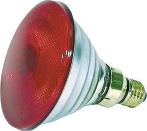 Värmelampa Lågenergi röd 100W