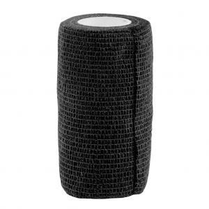 svart självhäftande bandage