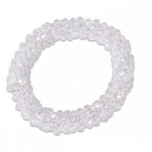 Bead Scrunchie Crystal