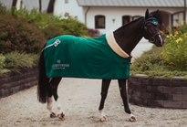 Fleece Rug Fur Emerald
