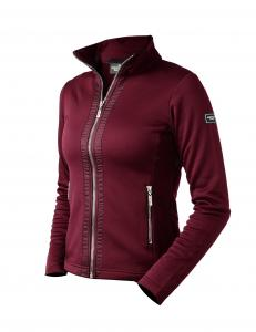Fleece Jacka Bordeaux