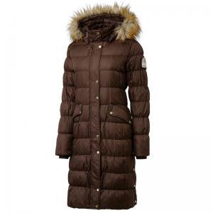 snygg brun varm jacka