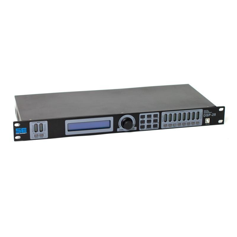 SE DSP-28 högtalarprocessor 2 in / 8 out