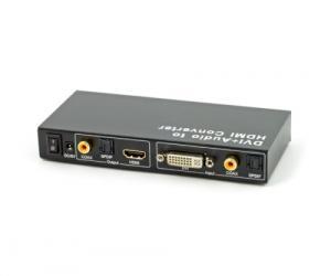 DVI/Digital-audio omvandlare till HDMI