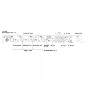 ITC T-1S01 Mixer/försteg 1+4st mik / 3st line