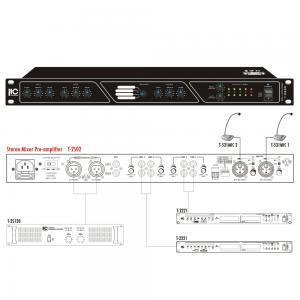 ITC T-2S02 Mixer/försteg 2st Mic / 4st Line