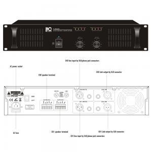 ITC T-2S120 Slutsteg 2x120W 100V