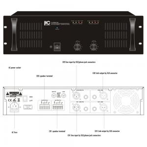 ITC T-2S240 Slutsteg 2x240W 100V