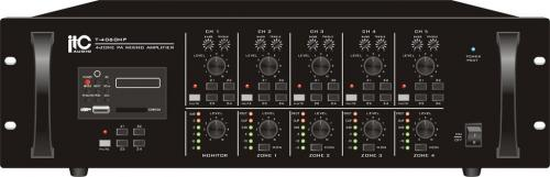 ITC T-4120MP Mixerförstärkare 4x120W 100V
