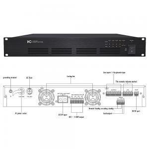 ITC T-4D500 Slutsteg 4x500W 100V
