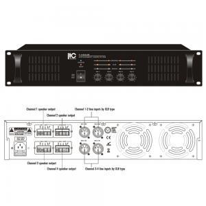 ITC T-4S120B Slutsteg 4x120W 100V