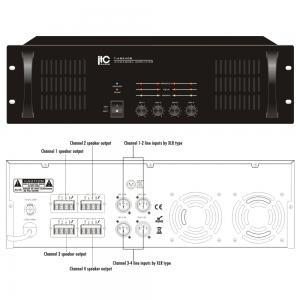 ITC T-4S240B Slutsteg 4x240W 100V