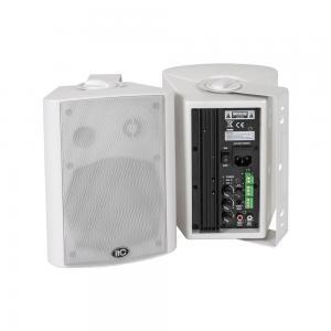 "ITC T-775AW Aktiva högtalare 5"" vit, ej auto on/off"
