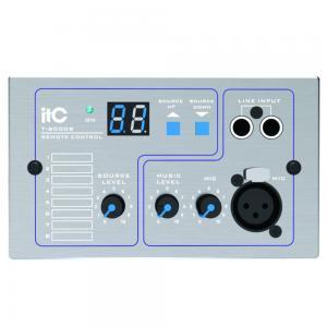 ITC T-8000B silvergrå väggpanel till T-8000 line + mik