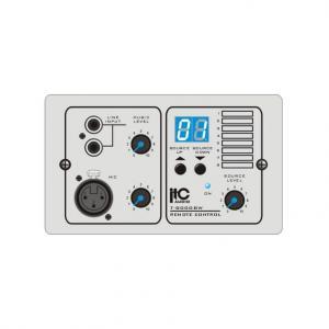 ITC T-8000BW vit väggpanel till T-8000 line + mik