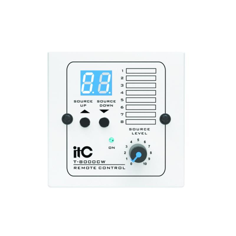 ITC T-8000CW vit väggpanel till T-8000