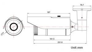 LS vision LS-VHP301W-P 3MP bullet