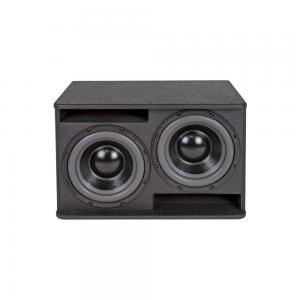 "SE audio HD-210SB 2x10"" Subwoofer 800W black"