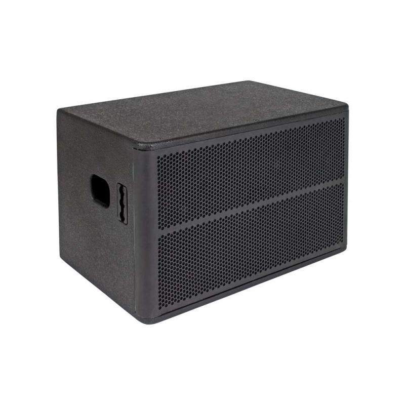 "SE audio HD-210SB 2x10"" Subwoofer 800W black"