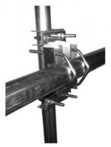Rör/rör fäste 50-76mm horisontell