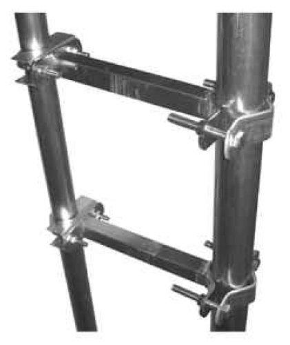 Rör/rör fäste 50-76mm vertikal