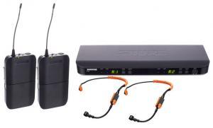 SHURE BLX188E/SM31 2st trådlösa fitness headsetmikrofoner
