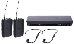 SHURE BLX188E/SM35 2st trådlösa headset