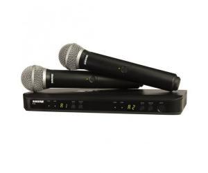 SHURE BLX288/SM58 2st trådlösa handmikrofoner