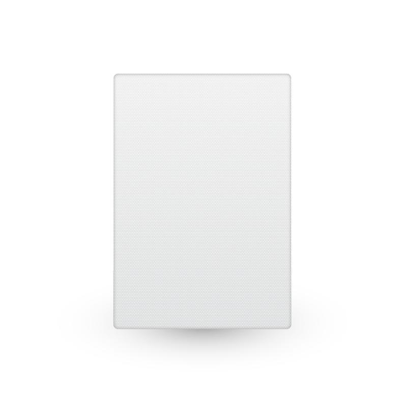 TRUAUDIO GR-THIN-R Rektangulärt galler till thin-ceiling-p