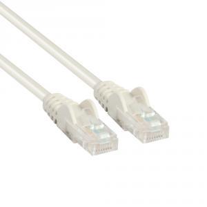 Nätverkskabel 5m Cat5e vit
