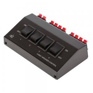 4-vägs högtalarväxel/switch