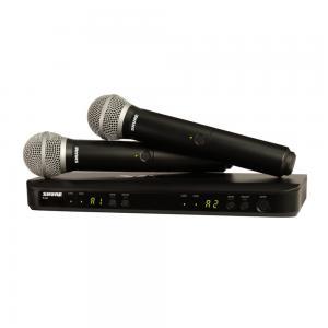 SHURE BLX288/PG58 2st trådlösa handmikrofoner