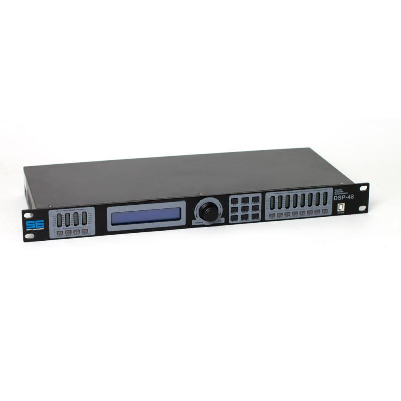 SE DSP-48 högtalarprocessor 4 in / 8 out
