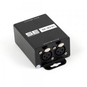 Isolator SE-B2AI, 2-CH XLR trafo mot jordbrum