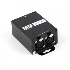 Combiner SE-2XMC, 2x balanserad XLR till 1x XLR