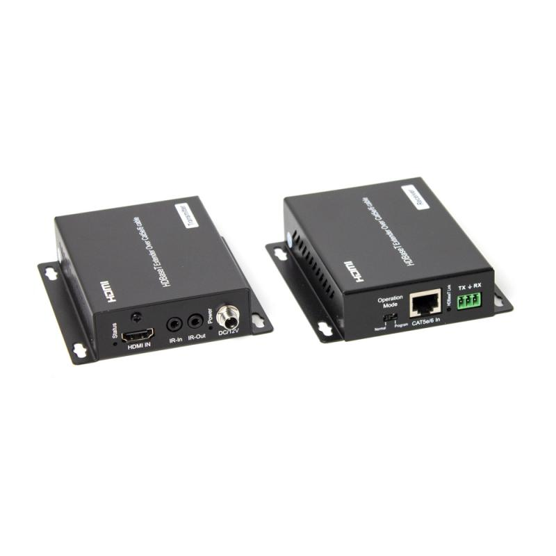 HDMI-förlängare HDBaseT 100M@1080P, 70M@4K 60Hz YUV 4:2:0, RS232, Ir, Kit