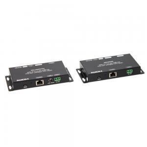 HDMI-förlängare HDBaseT 70M@1080P, 40M@4K 60Hz YUV 4:4:4, RS232, Ir, 1xHDMI-loop, 2xHDMI ut, Kit