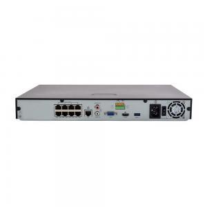 UNV NVR302-08E-P8-B, 8x POE, 2x SATA