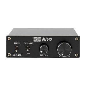 SE audio AMP-150  Slutsteg 1x150W i 4Ohm, inbyggt delningsfilter