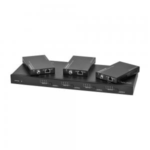 DL-44E-KIT 4X4, 4K HDBT Matrix Switch + 3 receivers