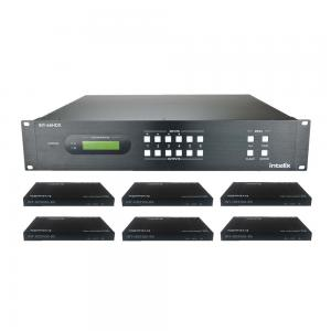 INT-66HDX-KIT, 6x6 HDBaseT matrix Kit + 6 receivers