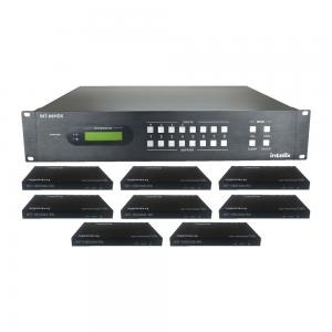 INT-88HDX-KIT, 8x8 HDBaseT matrix Kit + 8 receivers