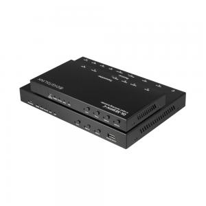 DL-SE3H1V-C, 4 x1 2 piece Conference Room auto switcher / HDBaseT 4K extender with simle control