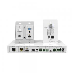 DL-RMKTC1H1V-W, HDMI, VGA and USB 2.0 Extender and Keypad Control System