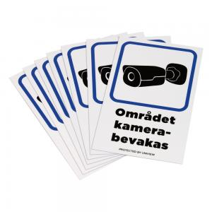 Kameradekal 55x85mm 10-pack